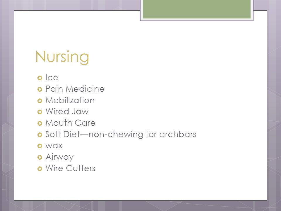 Oral Surgery and Your Nursing Care Jeannie Wood, APRN, FNP-BC. - ppt ...