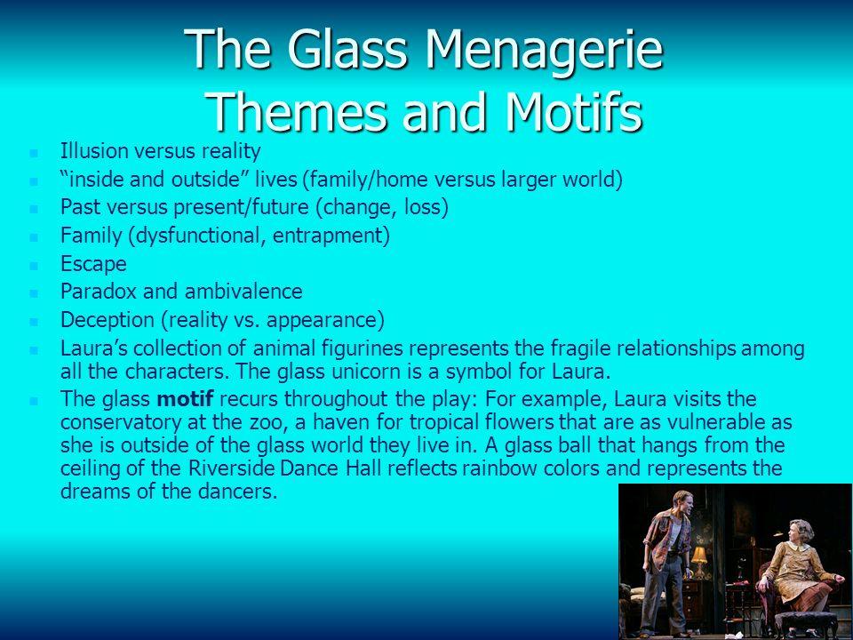 symbolism in the glass menagerie essay Essay on symbolism in the glass menagerie - symbolism in the glass menagerie symbolism plays an integral part in williams's play, the glass menagerie.