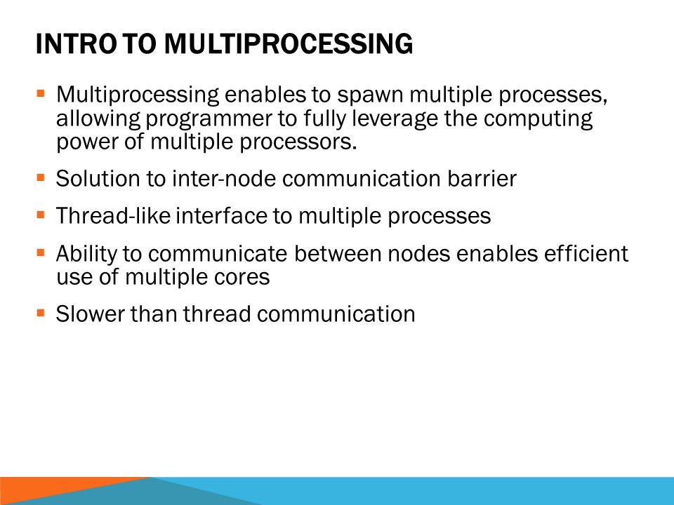 MULTIPROCESSING MODULE OF PYTHON  CPYTHON  CPython is the