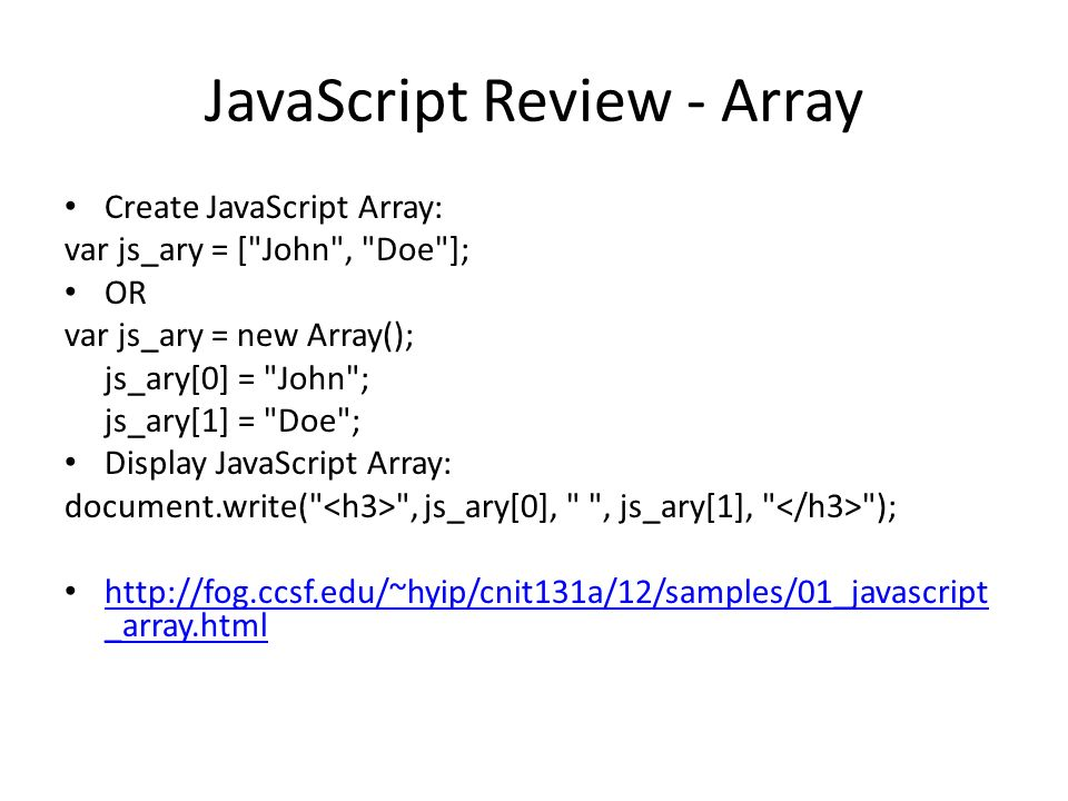 JSON (Copied from and from Prof Da Silva) Week 12 Web site