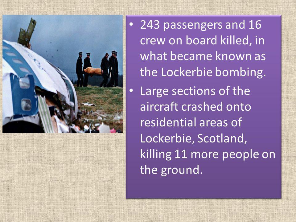 Image result for killing 243 passengers