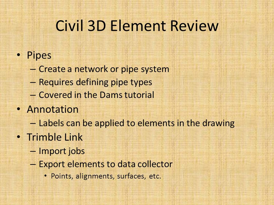Introduction to AutoCAD and Civil 3D Justin Bonnema, PE USDA-NRCS