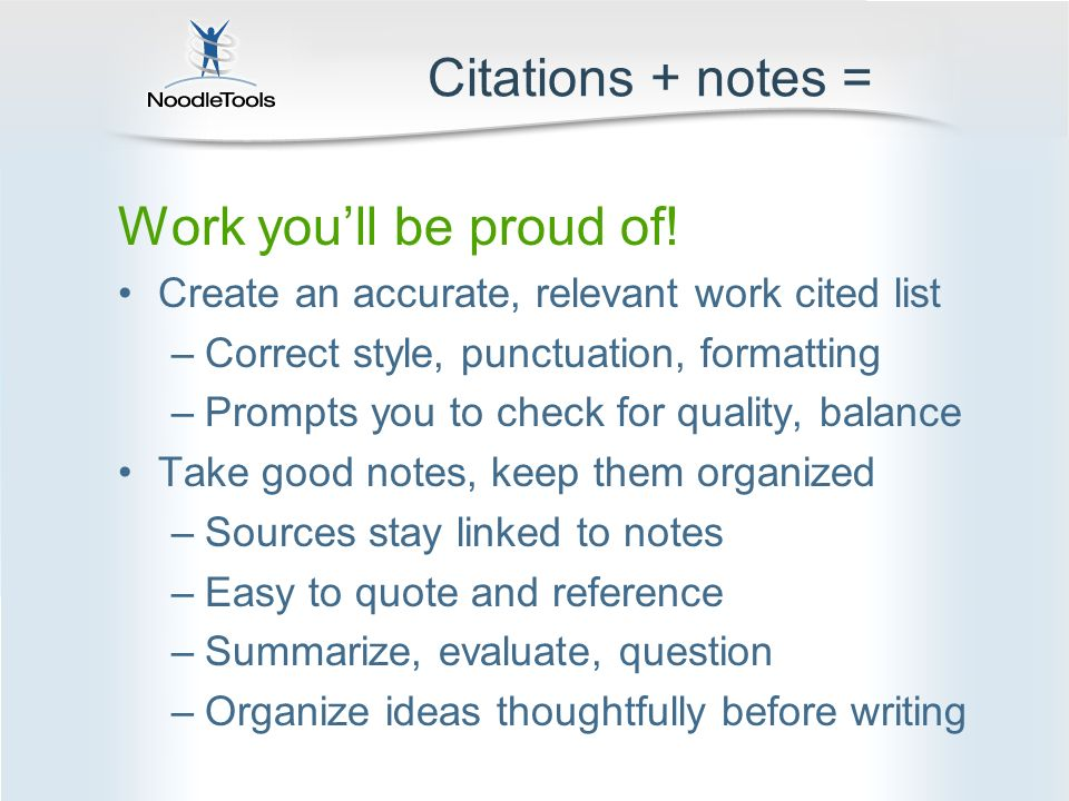 Help! Not bib & note cards… Oh, the horror of it all! - ppt download