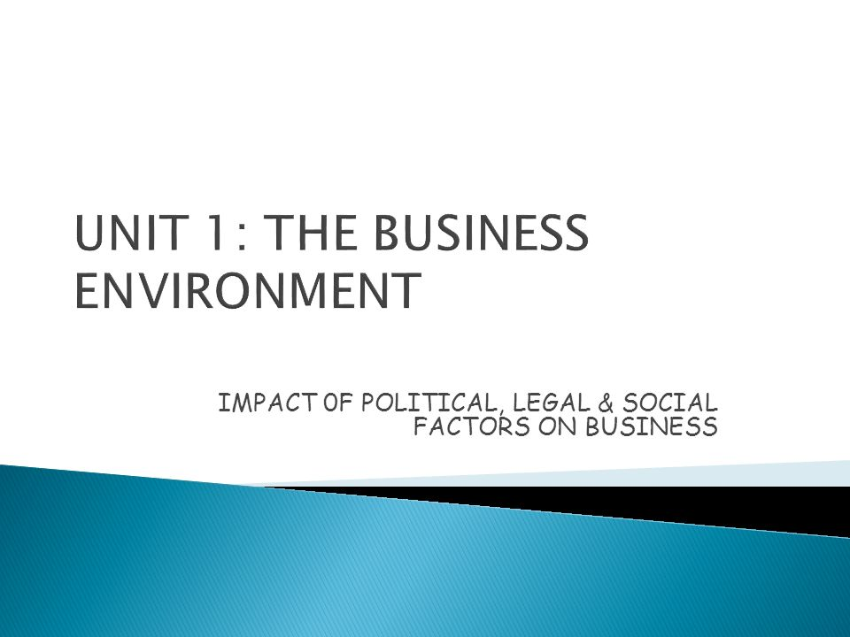 analyse how political legal and social factors have impacted in the two contrasting organisations These factors include political factors, economic, social, technological, legal and environmental also known political factors and environment of a country impacts any business organization and can also conducting a macro environment analysis, a good example of how political factors have.