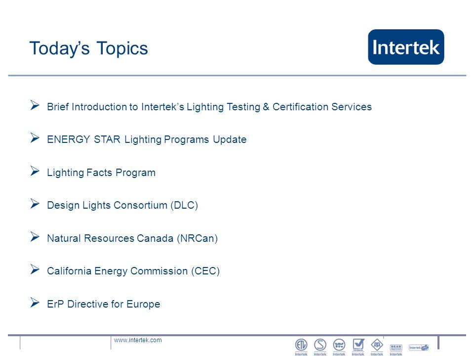 Ssl Product Performance Testing To Meet Energy Efficiency Program