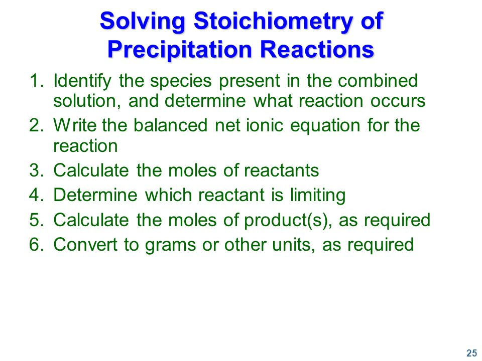 1 Types of Chemical Reactions and Solution Stoichiometry Chapter ppt