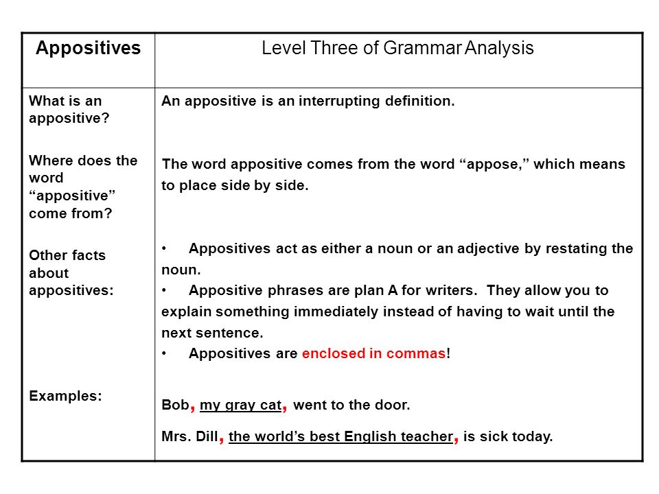 Phrases  Level Three of Grammar Analysis What is a phrase