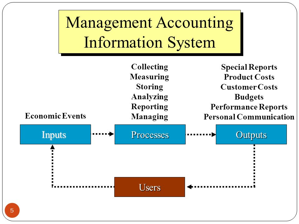 essential requirements of management accounting systems