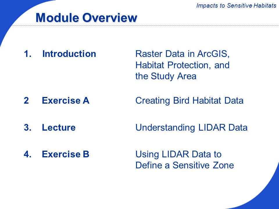 Module 3 Impacts to Sensitive Habitats Coastal Applications