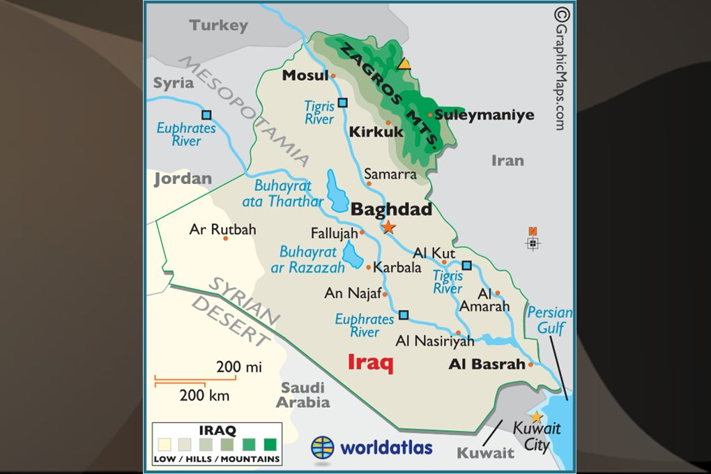 The Northeast Turkey Iraq Iran  Turkey is bordered by the