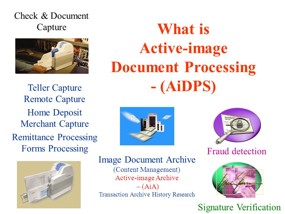 AiDPS ActiveImage Document Processing System For Caribbean - Document processing system