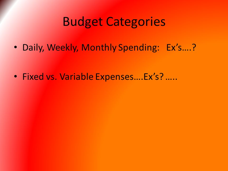 financial responsibility and money management personal budgeting