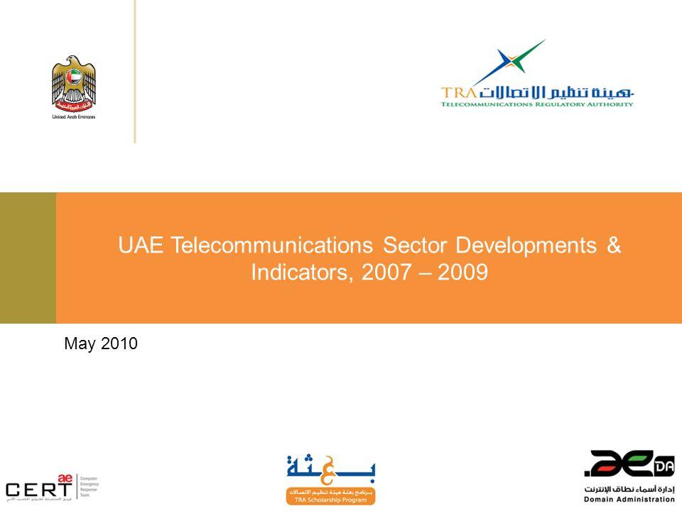 May 2010 UAE Telecommunications Sector Developments