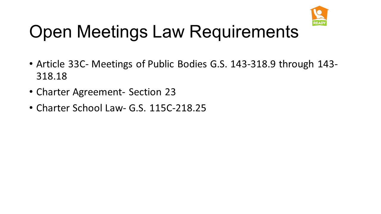 Open Meetings Law Office Of Charter Schools Cande Honeycutt