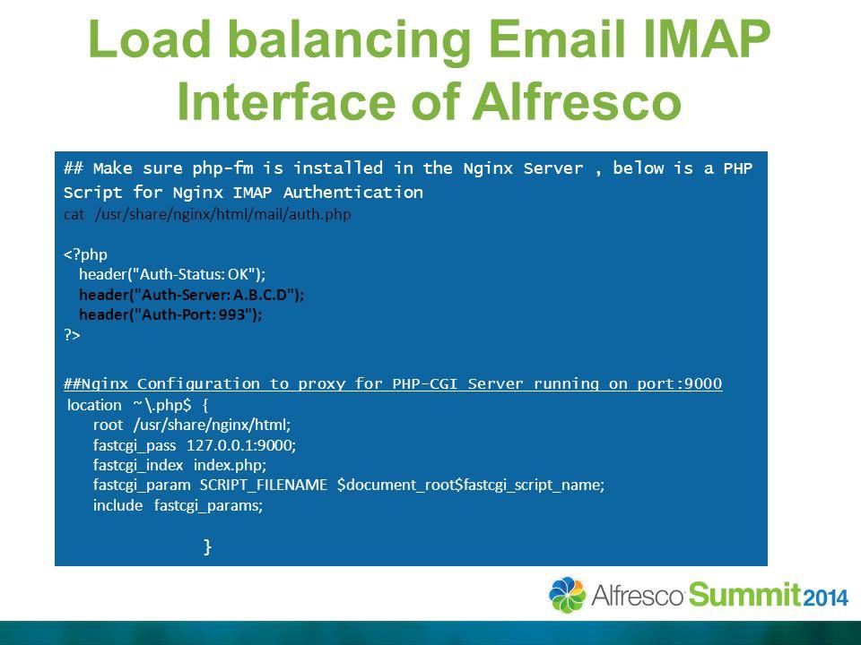 Speeding Up Alfresco and Share using Nginx Reverse/Caching