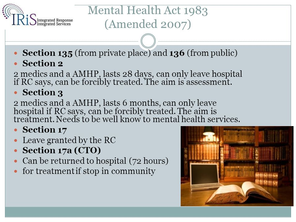 essay on mental health act Forensic mental health counseling plays more critical role increasingly since the demand for such services increases respectively to the growth of the number of mental health problems as well as offenses involving people suffering from mental health problems on the other hand, this field has remained under-researched for a considerable period since people with mental health problems used to.