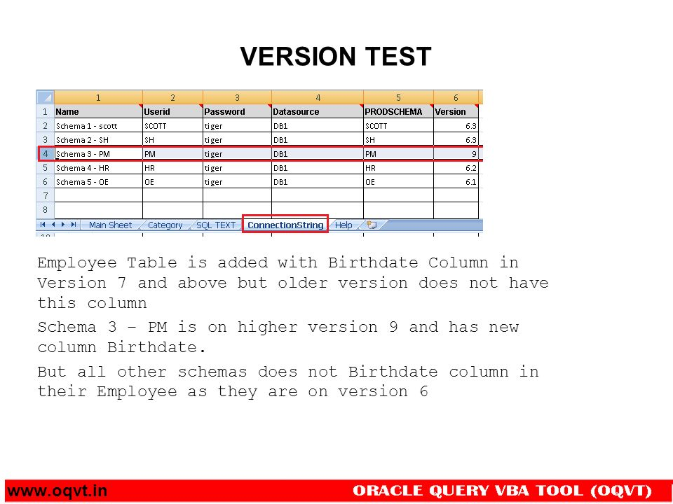 Oracle Query VBA Tool (OQVT) - ppt download