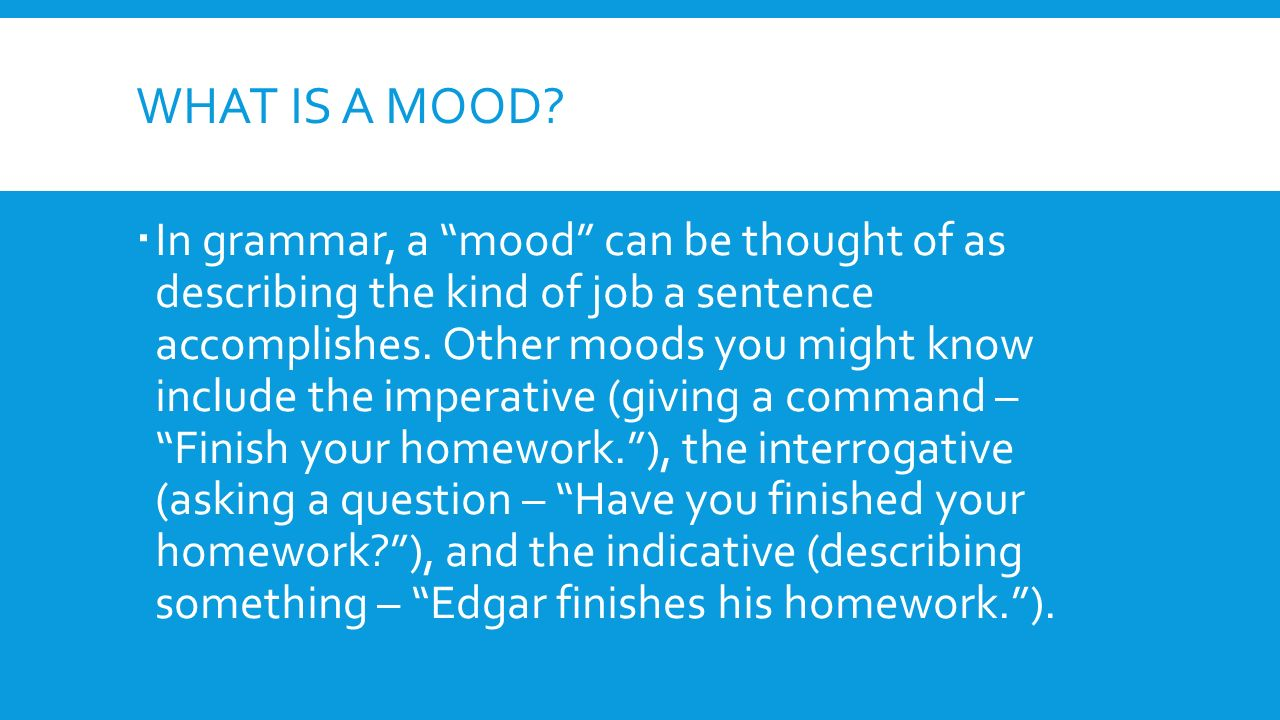 What is the mood 91