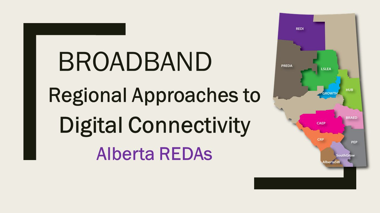 BROADBAND Regional Approaches to Digital Connectivity