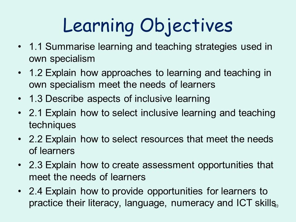 inclusive learning approaches for literacy language numeracy and ict