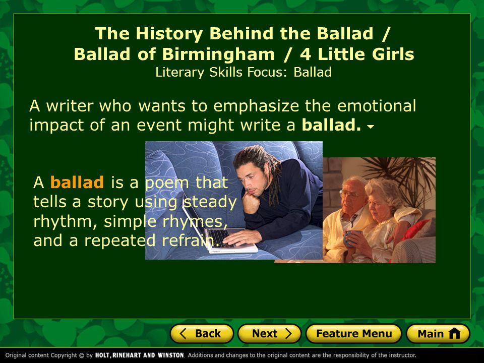 ballad of birmingham theme