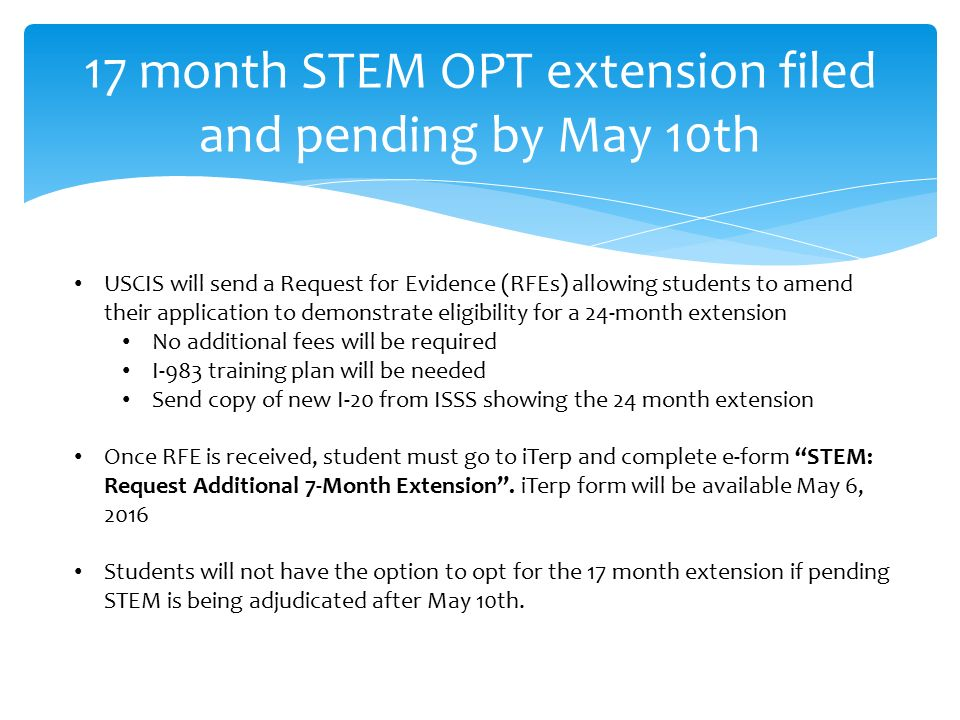 The New STEM OPT Regulations International Students and Scholar