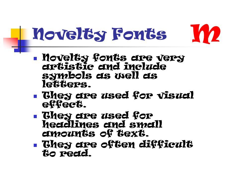 Font Examples Computer Applications Serif Fonts Serif Fonts Have