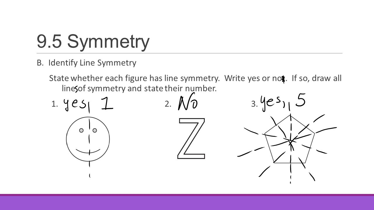 9 5 Symmetry Then You Drew Reflections And Rotations Of Figures