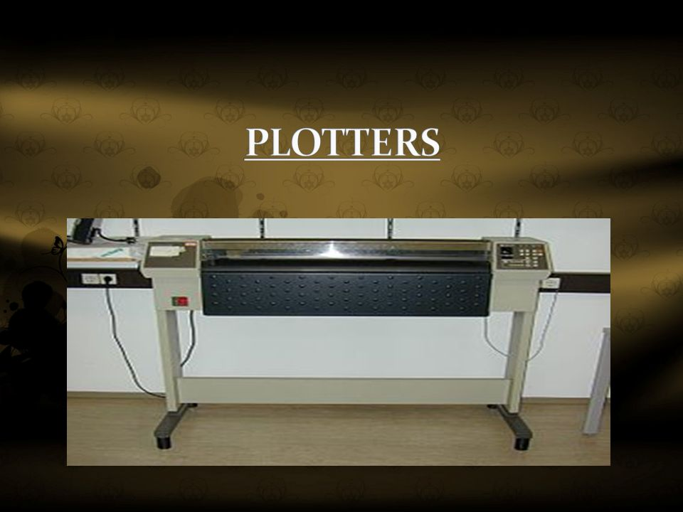 Topic : Output Devices with emphasis on Printers and