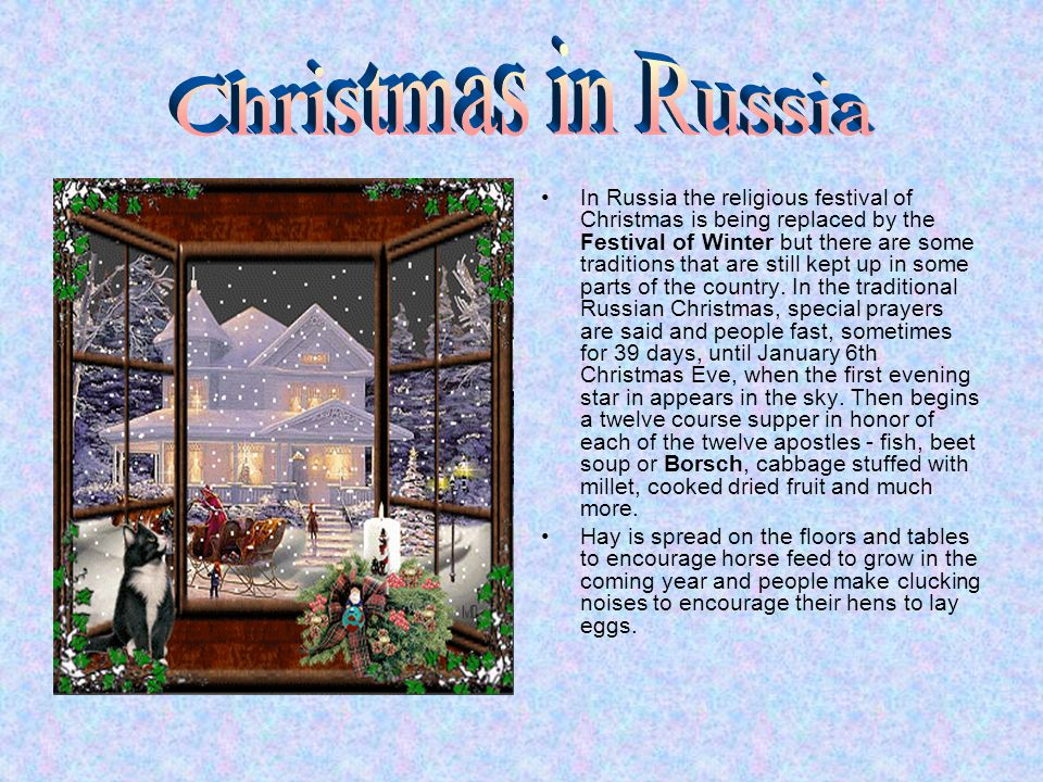When Is Russian Christmas.Christmas In Great Britain The Usa And Russia Content 1