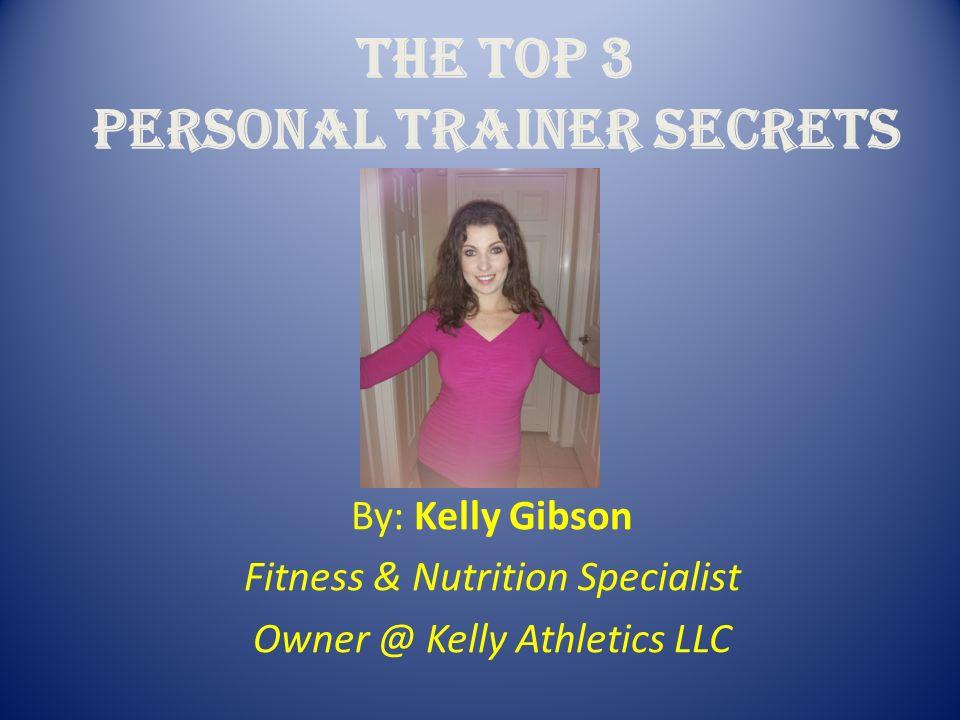 personal trainer secrets