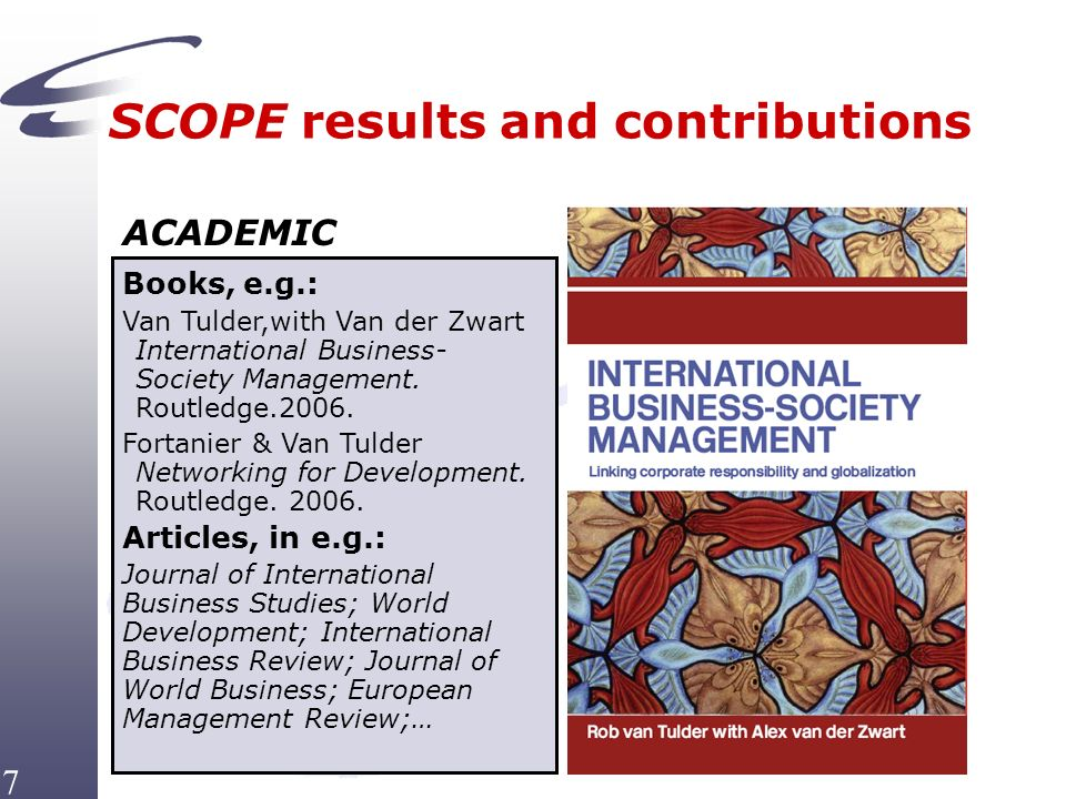 International Business-Society Management: Linking Corporate Responsibility and Globalization