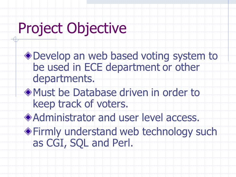 Online Voting System by Sanghun Chi ECE345  Introduction Traditional