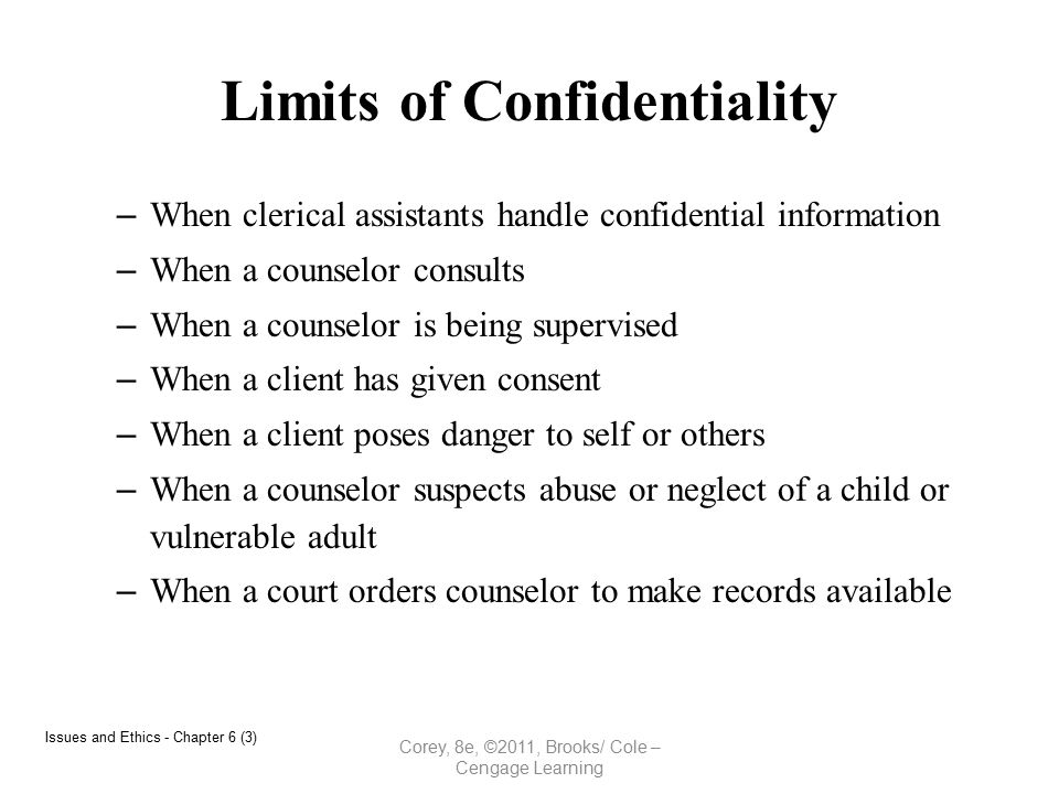 confidentiality in social work