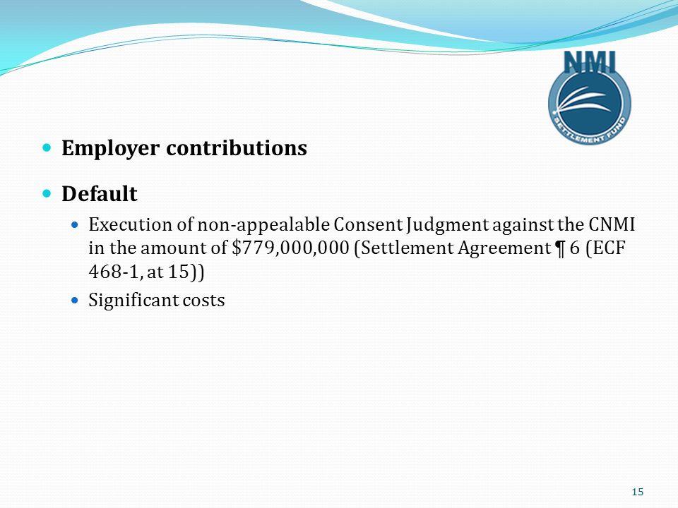 1 Settlement Agreement The Parties Class Membership Data Nmi