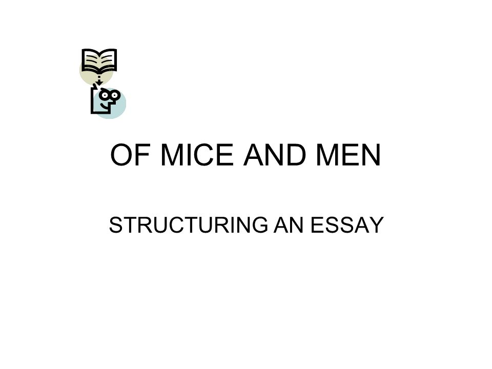 High School Persuasive Essay Examples  Of Mice And Men Structuring An Essay Proposal Essay Ideas also Essay Good Health Of Mice And Men Structuring An Essay Essay Question Read The Essay  Argument Essay Sample Papers