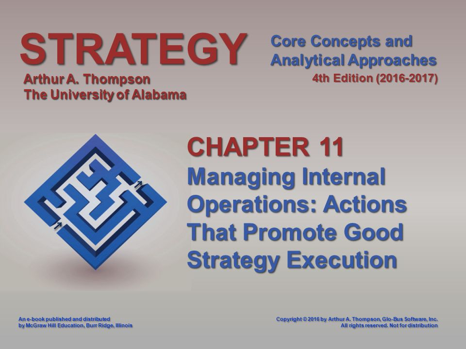 Strategystrategy Core Concepts And Analytical Approaches 4th Edition
