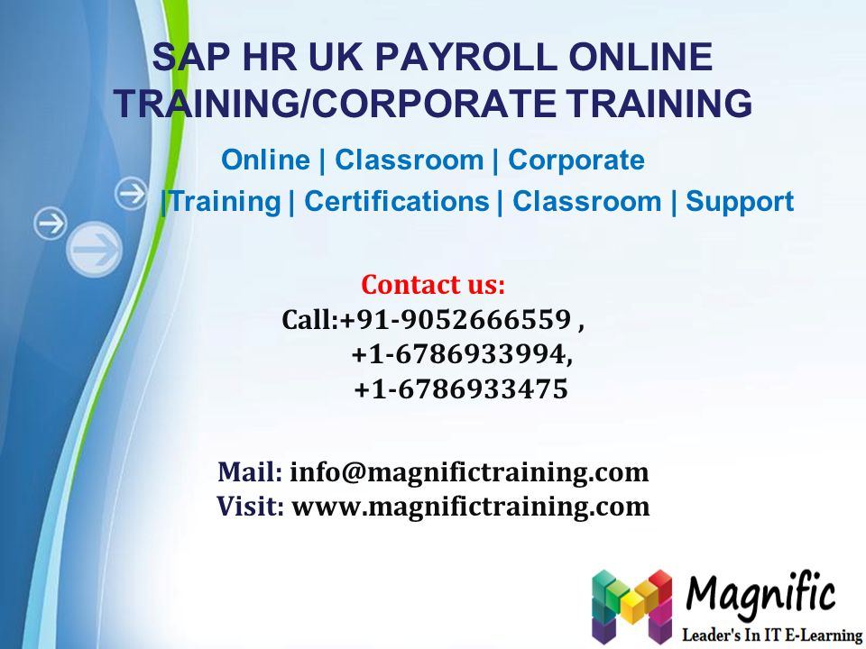 Powerpoint Templates Page 1 Sap Hr Uk Payroll Online Training