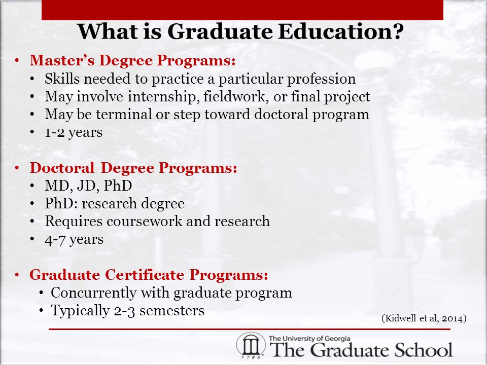 Earning Your Graduate Degree December 2 00pm Ppt Download