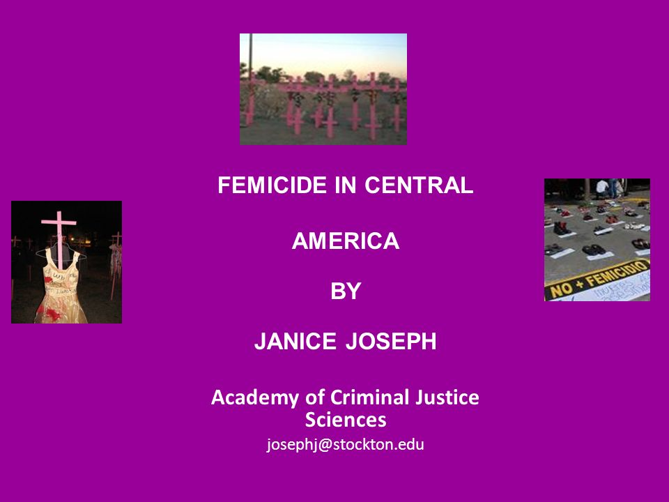 academy of criminal justice sciences