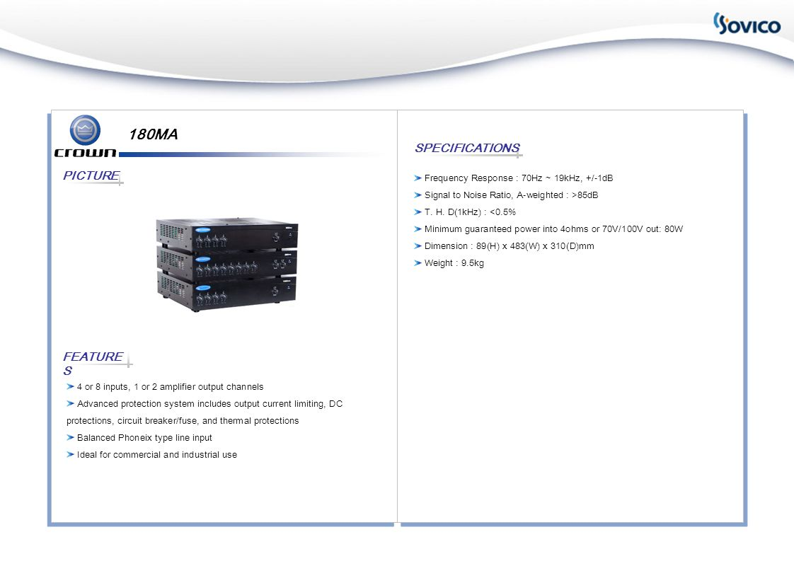IT-4000 FEATURE S PICTURE SPECIFICATIONS Globa Power Supply with PFC