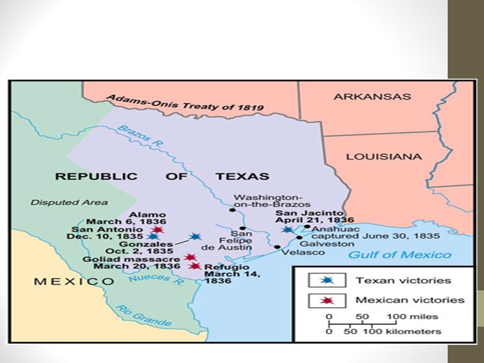 Map Of Texas During The Alamo.Meanwhile During The Battle Of The Alamo The Battle Of Coleto Creek