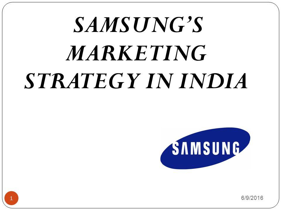 samsung marketing strategy