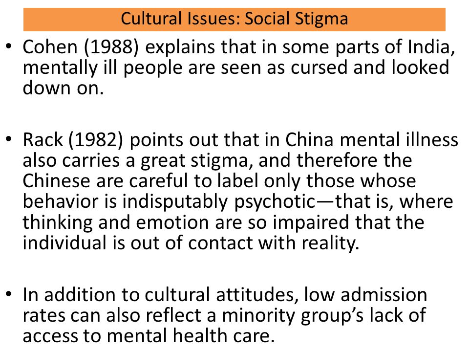 Diagnosing Mental Disorders Ib Syllabus Says Discuss Cultural And