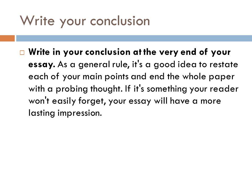 how to write a sa