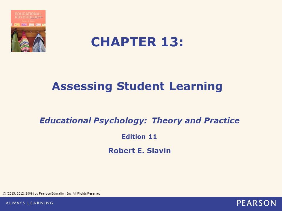 Chapter 13 assessing student learning 2015 2012 2009 by chapter 13 assessing student learning 2015 2012 2009 by pearson fandeluxe Images