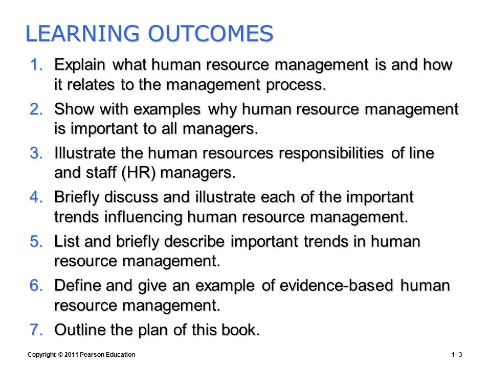 GARY DESSLER HUMAN RESOURCE MANAGEMENT Global Edition 12e Chapter 1