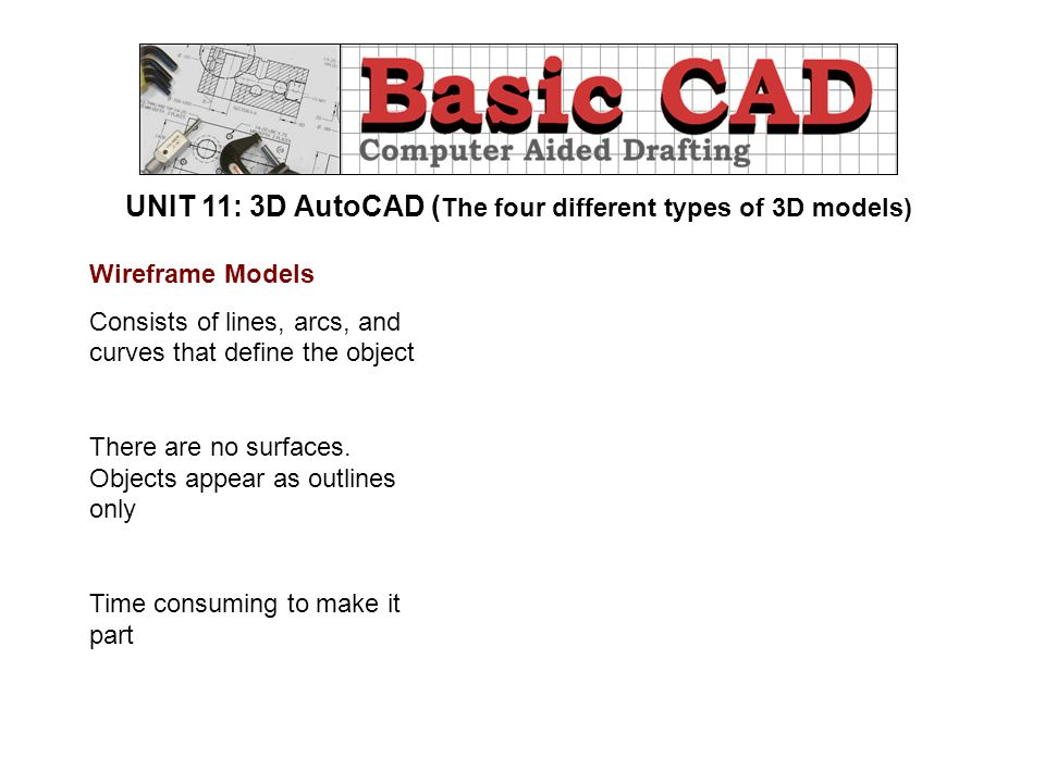 UNIT 11: 3D AutoCAD Objectives: How to print or plot a
