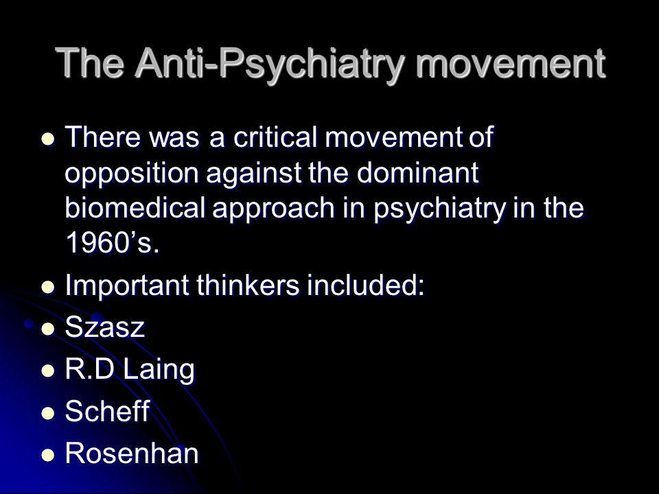 Socio-cultural Explanations of Schizophrenia Labelling