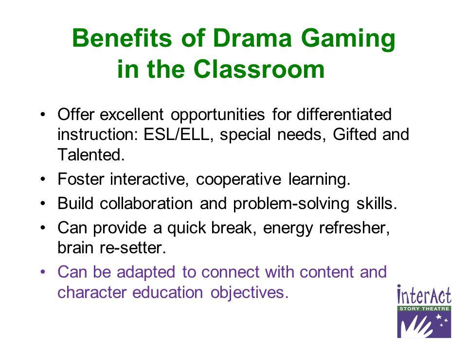 Bite Sized Strategies Drama Games Brain Breaks And Activities